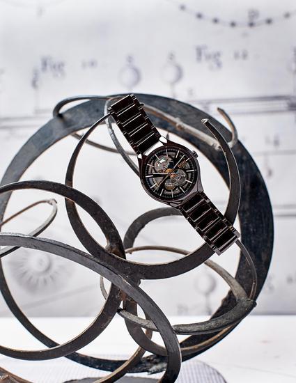 RADO 瑞士雷达表 True 真系列镂空主动机械腕表