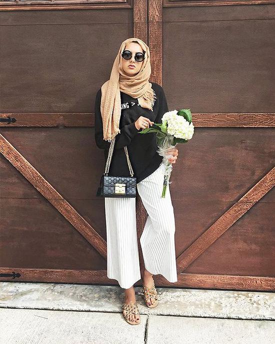 中东区域的年轻人是品牌们想要争夺的消费集体 图片来历:who what wear
