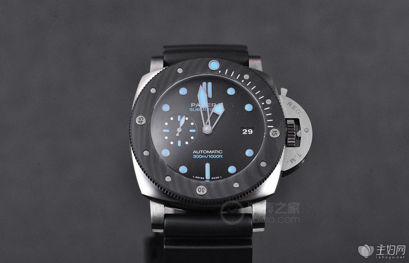 夏季潜水表来袭 品鉴沛纳海潜行系列金属玻璃腕表