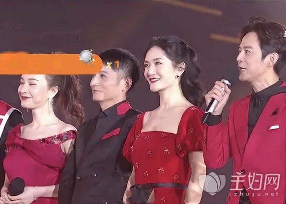 12月31日晚各大电视台跨年晚会直播镜头下的女明星
